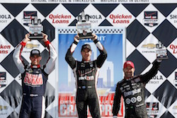 Castroneves completes the Team Penske and Chevy Sweep on Belle Isle