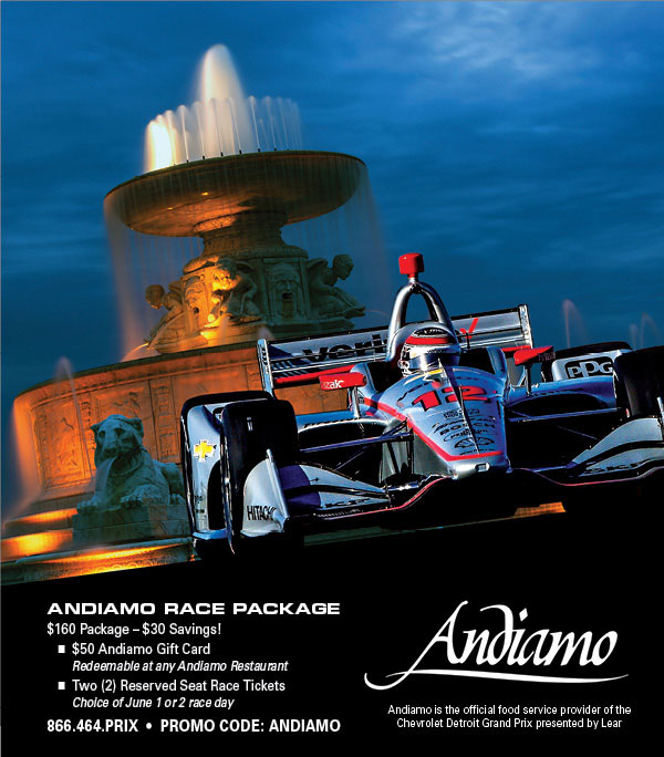 Promotion - Andiamo Race Package