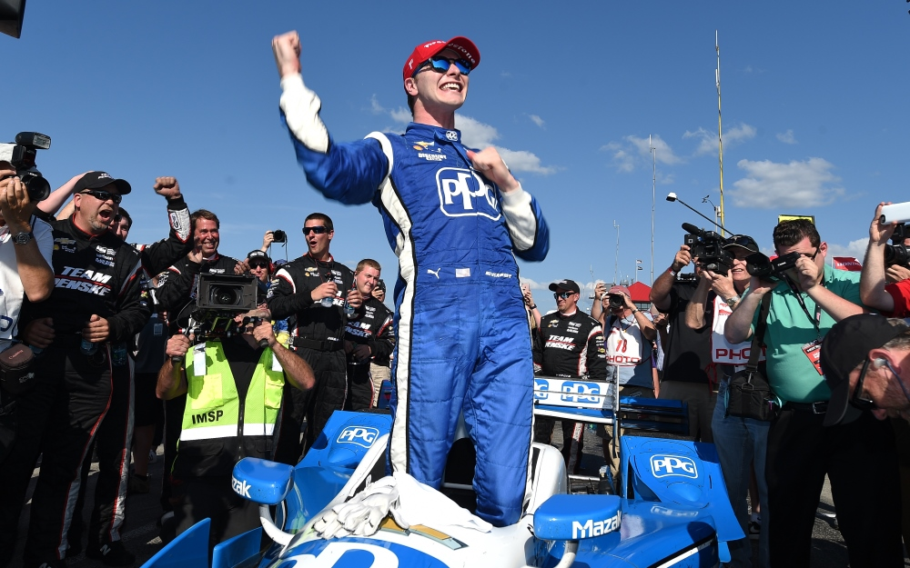Newgarden Conquers Mid-Ohio, Takes Over Points Lead