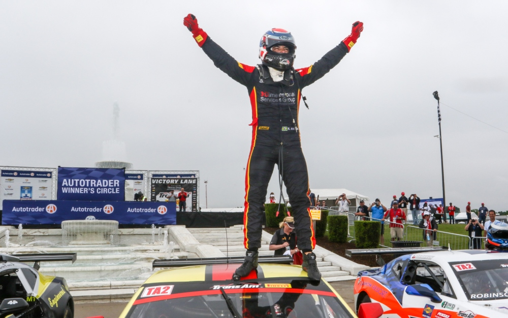 Rafa Matos Takes Final Trans Am Win of Detroit Weekend