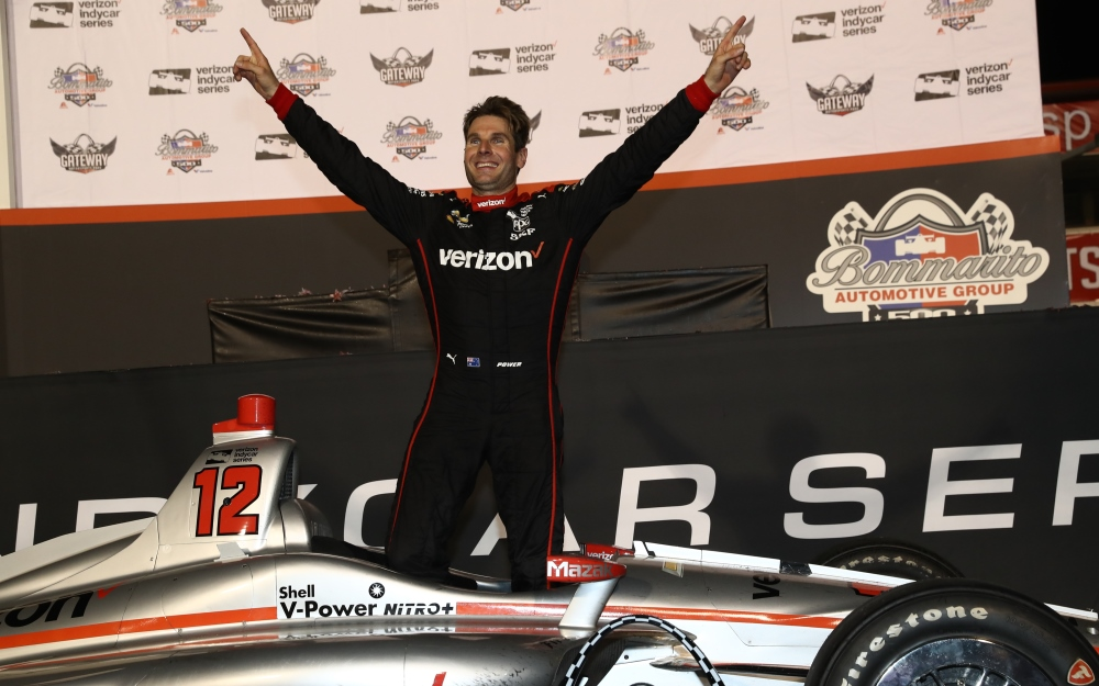 Power Finds Sweet Redemption with Victory at Gateway Motorsports Park