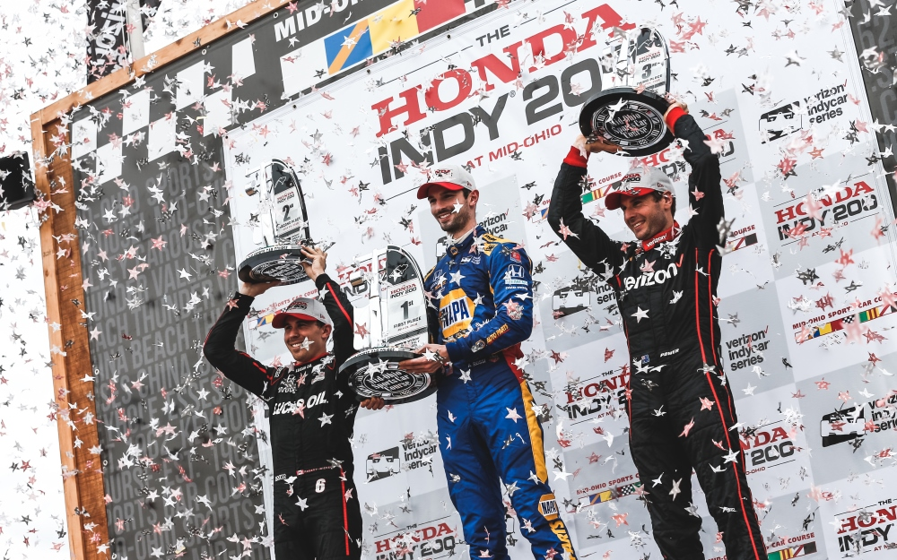 Rossi Works Two-Stop Strategy to Winning Perfection at Mid-Ohio