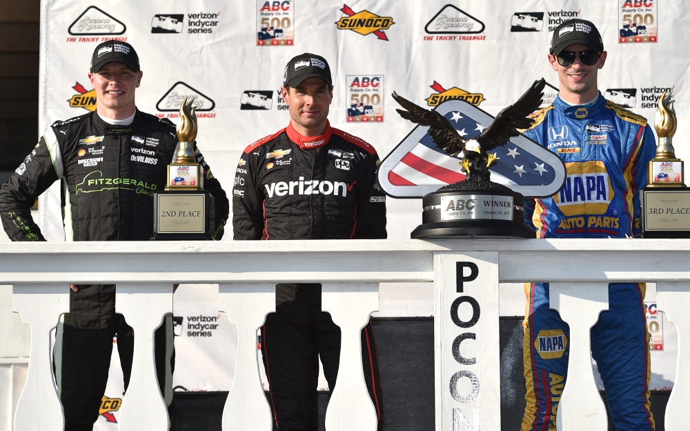 Power Recovers to Repeat as ABC Supply 500 Winner