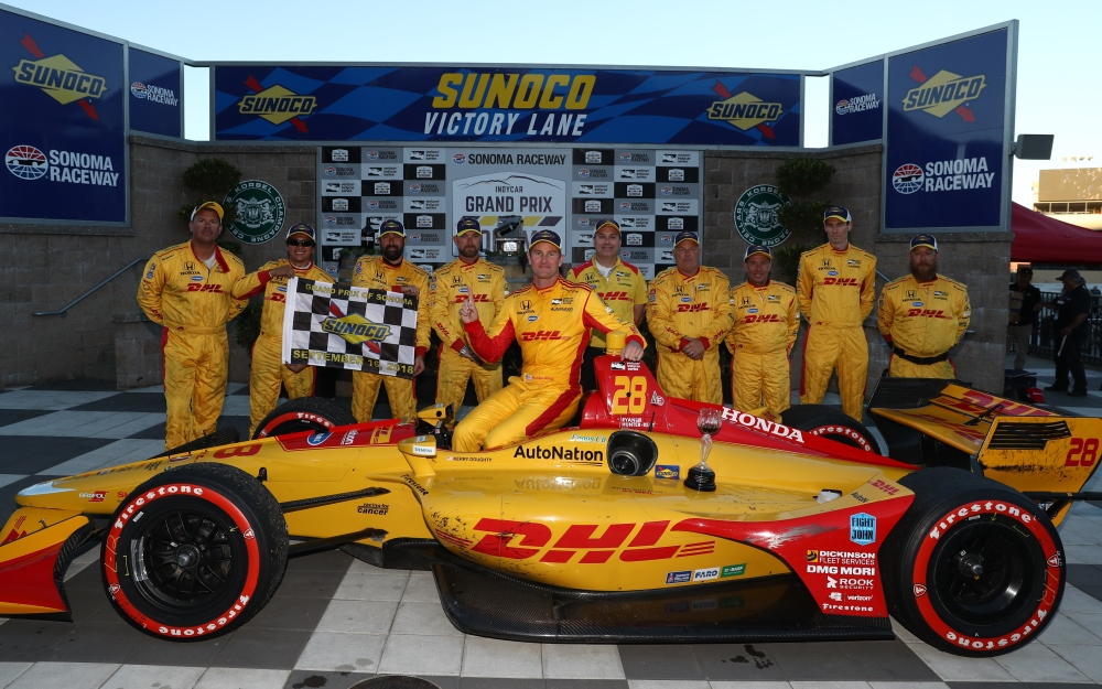 Dixon Reels in Fifth Championship with Steady Sonoma Runner-Up Finish