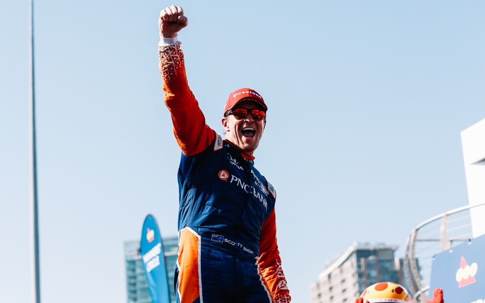 Dixon's Cool Drive Yields Victory in Toronto, Extends Points Lead