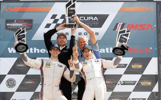 Castroneves, Taylor Deliver First Acura Win in 1-2 Sweep at Mid-Ohio