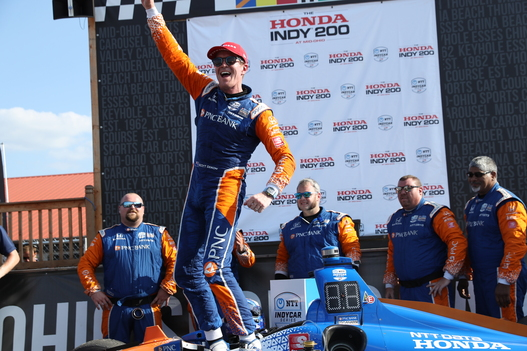 Dixon Holds Back Rookie Teammate, Wins Mid-Ohio Again